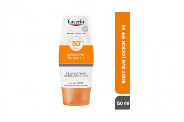 Eucerin Sun Lotion FPS 50 Caja Con Frasco Con 150 mL – Protector Solar