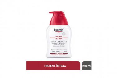 Eucerin Higiene Íntima Caja Con Frasco Con 250 mL – Jabón Líquido