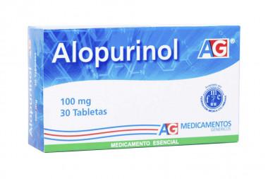 Alopurinol 100 mg Caja Con 30 Tabletas – American Generics