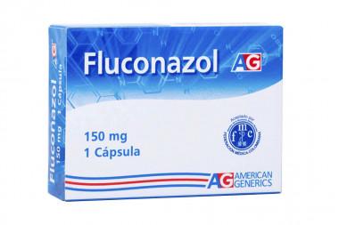 Fluconazol 150 mg Caja Con 1 Cápsula - American Generics