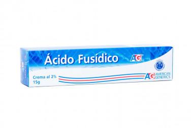 Ácido Fusídico 2 % Crema Caja Con Tubo Con 15 g