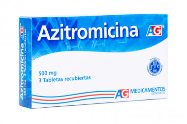 Azitromicina 500 mg Caja Con 3 Tabletas Recubiertas – American Generics