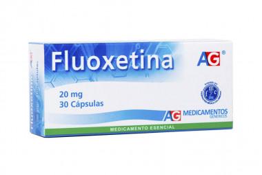 Fluoxetina 20 mg Caja Con 30 Cápsulas – American Generics