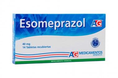 Esomeprazol 40 mg Caja Con 14 Tabletas Recubiertas