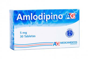 Amlodipino 5 mg Caja Con 30 Tabletas - American Generics