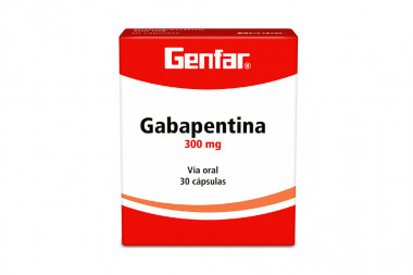 Gabapentina 300 mg Caja Con 30 Cápsulas