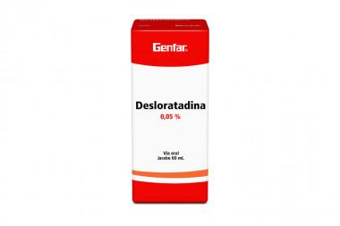 Genfar Desloratadina Jarabe 0,05 % Caja Con Frasco Con 60 mL