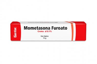 Mometasona Furoato 0.1 % Crema Caja Con Tubo Con 15 g