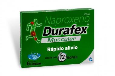 Durafex 250 g Caja Con 6 Cápsulas Líquidas