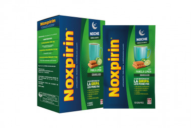 Noxpirín Noche Sabor Panela Limón Sobre Con 10 gr