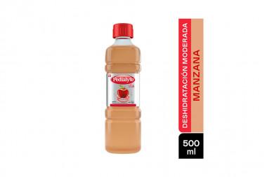 Pedialyte 45 Frasco Con 500 mL - Sabor A Manzana