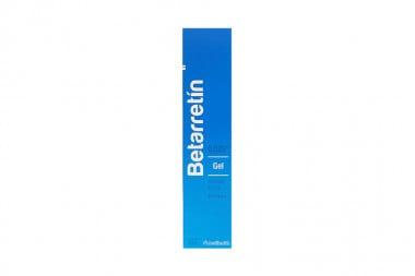 Betarretín Gel 0,025 % Caja Con Tubo Con 30 g