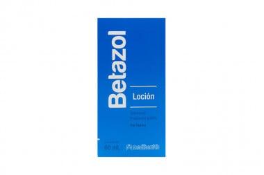 Betazol Loción Caja Con Frasco Con 60 mL