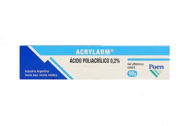 Acrylarm En Gel 0.2 % Caja Con Tubo Con 10 g