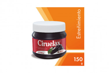 Ciruelax Frasco Con 150 g Jalea Laxante Para Estreñimiento
