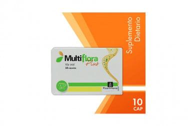 Multiflora Plus Caja Con 10 Cápsulas