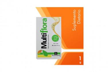 Multiflora Polvo Caja Con 6 Sachets De 1 g - Suspensión Oral