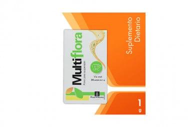 Multiflora Suspensión Oral Caja Con 14 Sachets De 1g