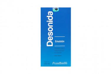 Desonida Emulsión 0.5 % Caja Con Frasco Con 120 mL