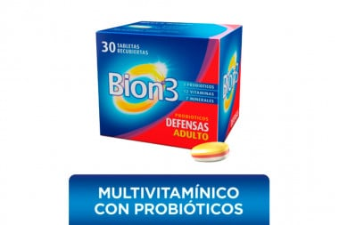 Bion 3 Caja Con 30 Tabletas Recubiertas