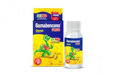 Gamabenceno Plus Champú 1 % Caja Con Frasco Con 60 mL