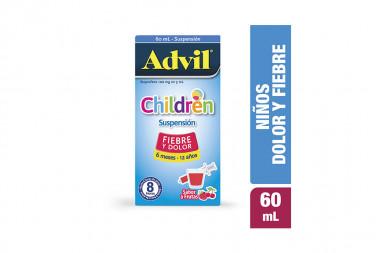 Advil Children Sabor Frutas Caja Con Frasco Con 60 mL