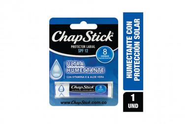 Chapstick Protector Labial Caja En Barra Con 4 g Ultra Humectante