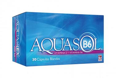 Aquasol B6 400 UI / 50 mg Caja Con 30 Cápsulas Blandas