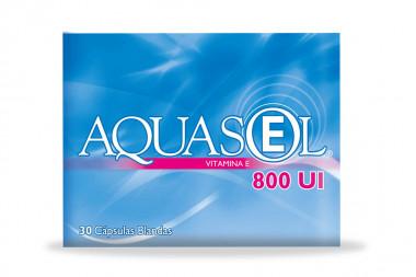 Aquasol-E 800 U.I Caja Con 30 Cápsulas Blandas