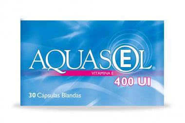 Aquasol E 400 UI Caja Con 30 Cápsulas Blandas