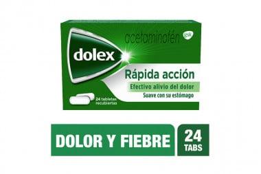 Dolex 500 mg Caja Con 24 Tabletas Recubiertas