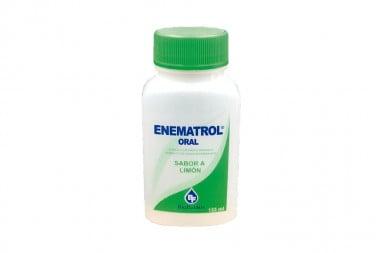 Enematrol Sabor A Limón Oral Frasco Con 133 mL