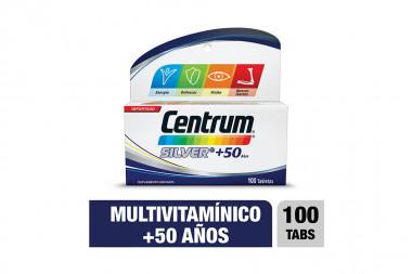 Centrum Silver 50 + Años Caja Con 100 Tabletas