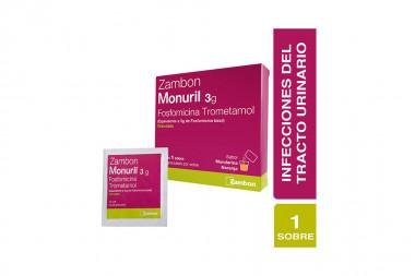 Monuril Granulado 3 g Caja Con 1 Sobre de 8 g