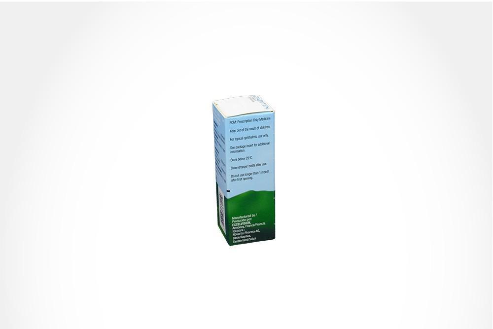 Zaditen Solución Oftálmica 0.25 mg Caja Con Frasco Con 5 mL