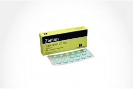 Zentius 20 mg Caja Con 15 Comprimidos Recubiertos
