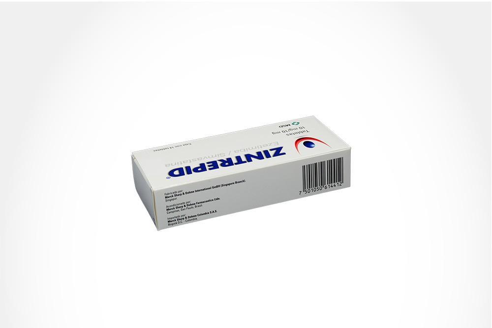 Zintrepid 10 / 10 mg Caja Con 14 Tabletas