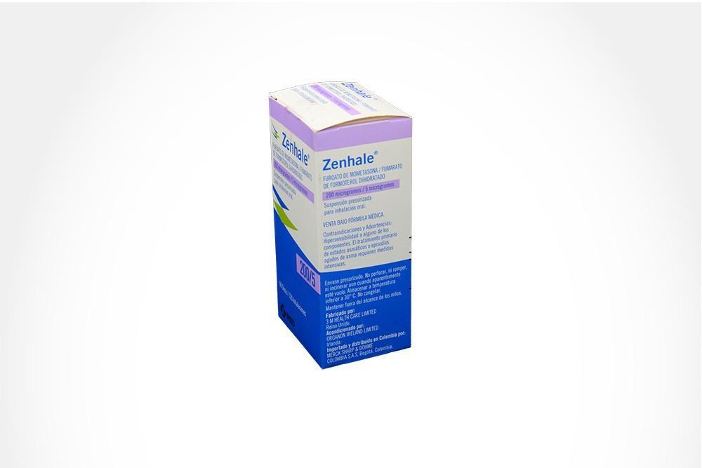 ZENHALE AER 5-200 MCG/DOSIS