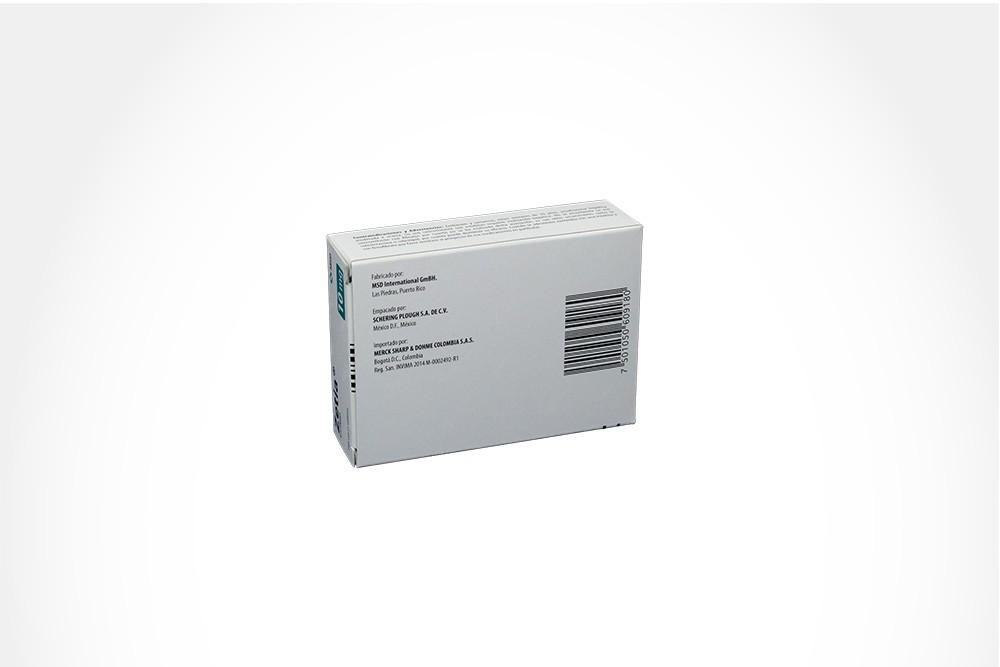 Zetia 10 mg Caja Con 21 Tabletas